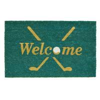 Golf Welcome Doormat