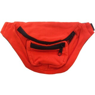 Orange Fanny Pack Bag