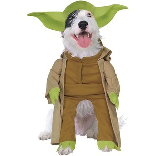 Yoda Star Wars Pet Costume (4 options available)