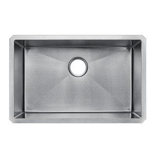 Starstar 28 X 18 Undermount 16 Gauge 304 Stainless Steel Kitchen Sink Bowl