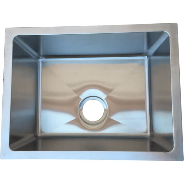 starstar 21 x 16 undermount 16 gauge 304 stainless steel kitchen sink bowl starstar 21 x 16 undermount 16 gauge 304 stainless steel kitchen      rh   overstock com
