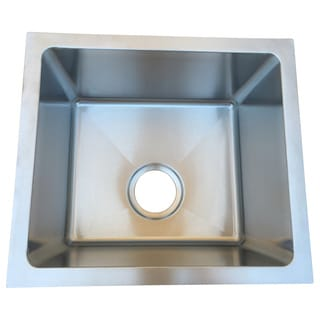 Starstar 17 X 15 Undermount Kitchen/Bar Stainless Steel Sink Single Bowl