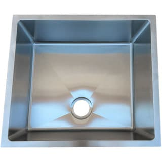 Starstar 25 X 22 Undermount 16 Gauge 304 Stainless Steel Kitchen Sink Bowl