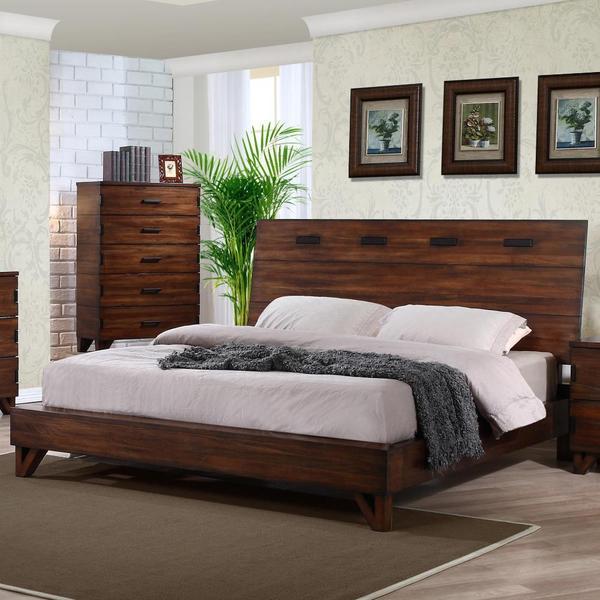 Shop Williamsburg 5 Piece Mid Century Style Bedroom Set Free