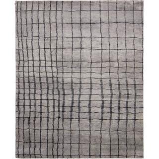 Indo Moroccan Achraf Grey Rug (8' x 10')