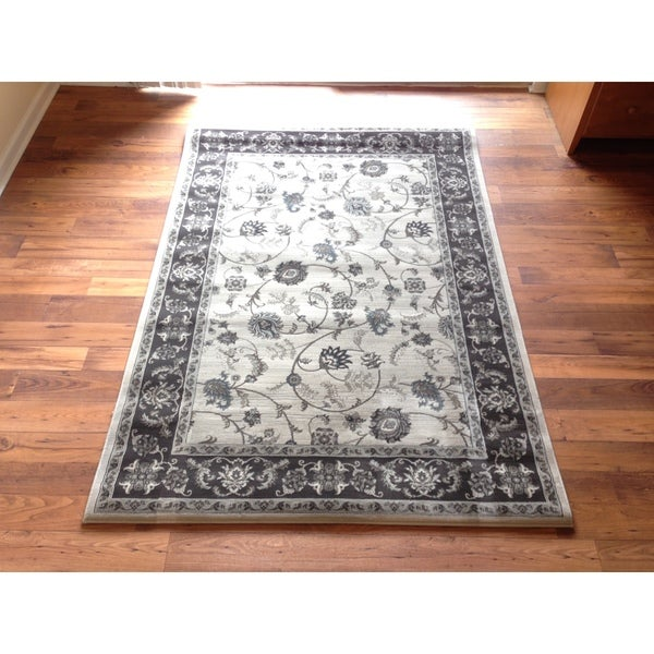 Shop Traditional High Quality Area Rug Grey Oriental