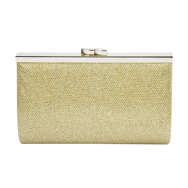 Mini Glitter Shimmer Clip Clasp Evening Party Clutch