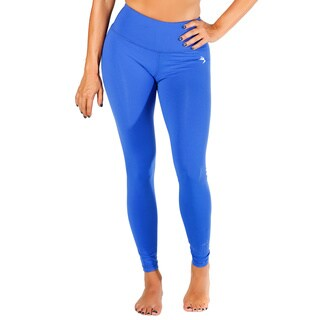 Women's Blue High Rise Yoga Pants