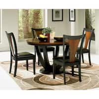 Saratoga 5-piece Wood Dining Set