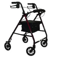 E-series Rollator with Padded Seat and 6-inch Wheels