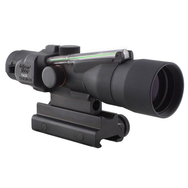 Trijicon ACOG 3x30mm Illuminated Green Horseshoe/Dot .223 with TA60