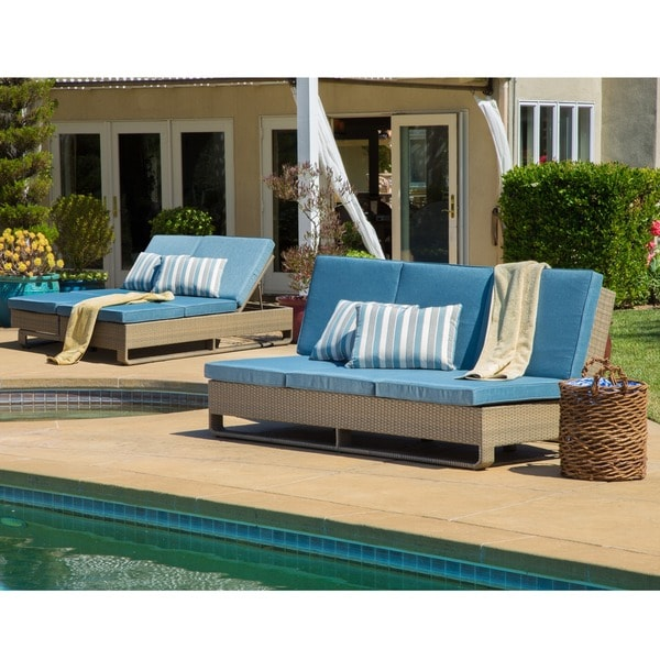Corvus ashena outdoor euro lounger free shipping today for Couch 600 euro