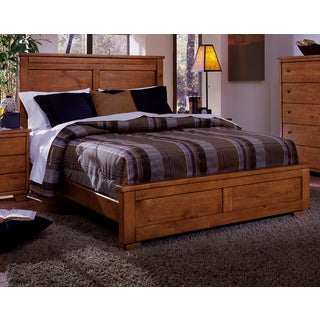 Diego Cinnamon Finish Pine Wood Bed
