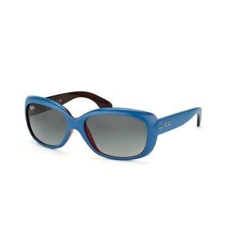 Ray -Ban Jackie Ohh RB4101 Blue Grey Gradient 58mm Sunglasses