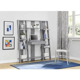 Avenue Greene Grey Ladder Storage Office Wall Unit