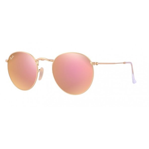 Ray-Ban RB3447 50mm Round Sunglasses - Pink