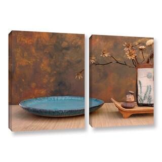 ArtWall Elena Ray ' Zen Still Life 2 Piece ' Gallery-Wrapped Canvas Set