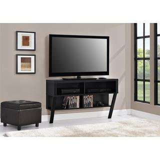 Ameriwood Home Black Oak Wall Mounted 42-inch TV Stand