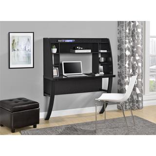 Ameriwood Home Eden Black Oak Wall-mounted Desk (Option: Black)
