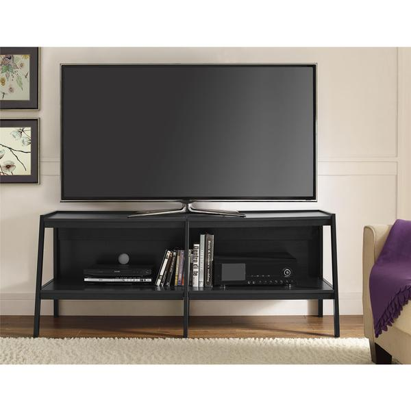 black ladder stand bc innovex 60 tv with mount stands fireplace for flat screens