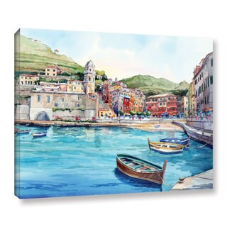 ArtWall Bill Drysdale ' Vernazza ' Gallery-Wrapped Canvas (5 options available)