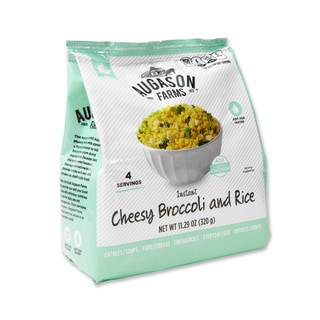 Augason Farms Pantry Pack Instant Cheesy Broccoli Rice (Pack of 6)