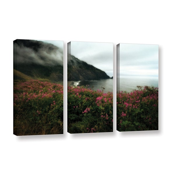 ArtWall Kevin Calkins ' August In Oregon 3 Piece ' Gallery-Wrapped Canvas Set - Multi