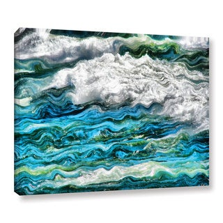 ArtWall Kevin Calkins ' Cresting Waves 2.0 ' Gallery-Wrapped Canvas