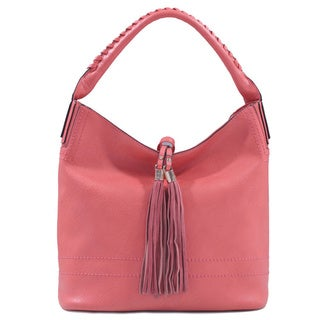 Lithyc 'Rebecca' Satchel Bag with Tassels