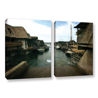 ArtWall Kevin Calkins ' Fishtown 2 Piece ' Gallery-Wrapped Canvas Set