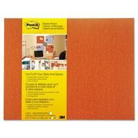Post-it Cut-to-Fit Tangelo Display Board