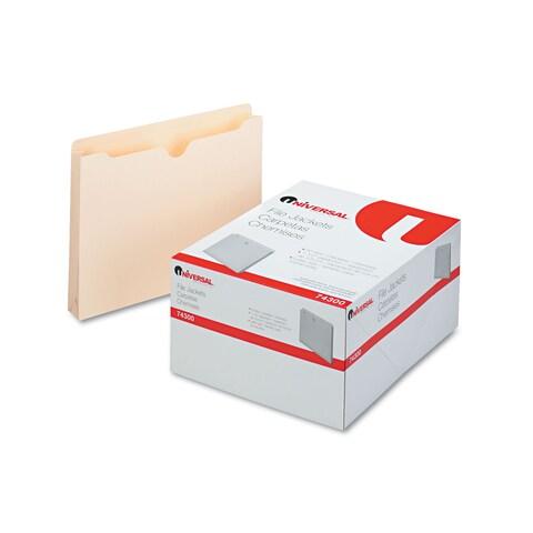 Universal Economical Manila File Jackets (Box of 50)