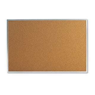 Universal 36 x 24 Natural Cork Bulletin Board|https://ak1.ostkcdn.com/images/products/10333034/P17443333.jpg?impolicy=medium