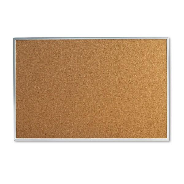Universal 36 x 24 Natural Cork Bulletin Board