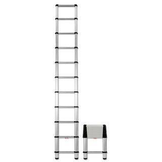 Telesteps Aluminum 14 ft Telescopic Extension Ladder