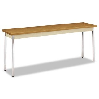 HON Harvest/Putty Rectangular 72 inches wide x 18 inches long x 29 inches high Utility Table