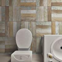 SomerTile 17.63x17.63-inch Royals Bretagne Ceramic Floor and Wall Tile (5 tiles/11.1 sqft.)