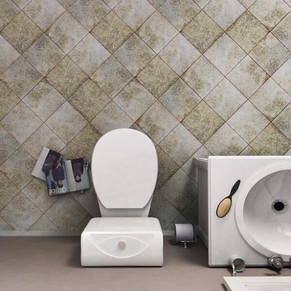Shop SomerTile Xinch Royals Houston Ceramic Floor And - Bathroom tile houston