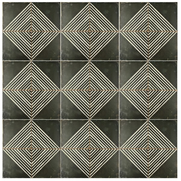 somertile royals rombos ceramic floor and wall tile case of 5 free shipping today