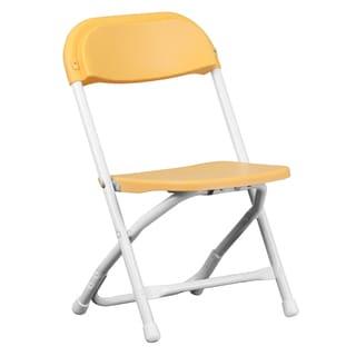 Dahila Kids Yellow Folding Chairs