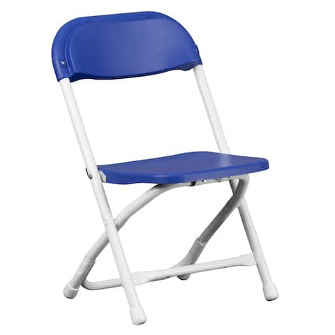 Dahila Kids Size Blue Folding Chairs