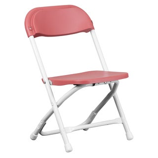 Dahila Kids Burgundy Folding Chairs