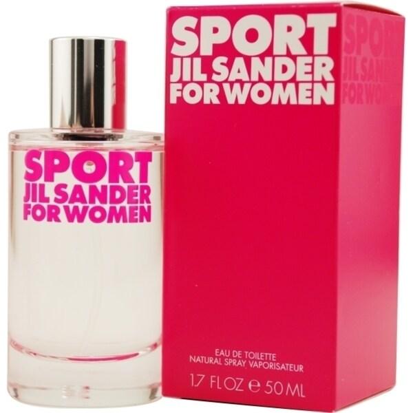 Shop Jil San der Sport Women s 1.7-ounce Eau de Toilette Spray - Free  Shipping On Orders Over  45 - Overstock.com - 10333259 257e6e561