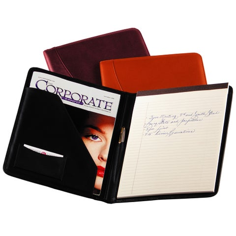 Royce Leather Writing Genuine Leather Padfolio
