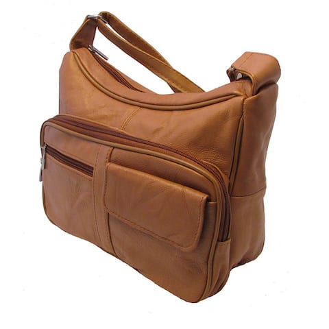 Continental Leather Versatile Two-in-One Crossbody