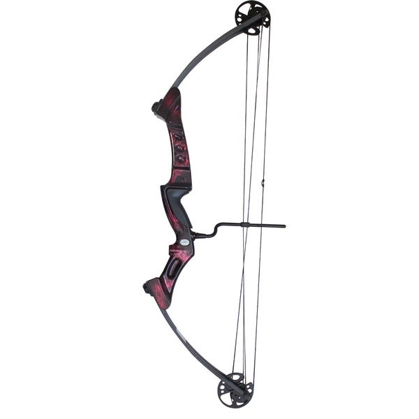 SAS Primal Bow 35-50 lb Ruby Riser/Carbon Dipped Limbs