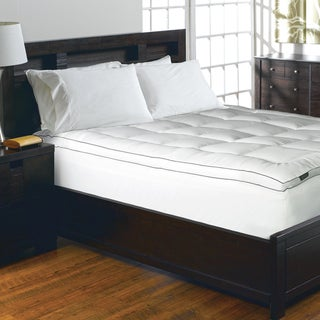 Link to Elle 1200 Thread Count Cotton-rich Solid Mattress Pad - White Similar Items in Mattress Pads & Toppers