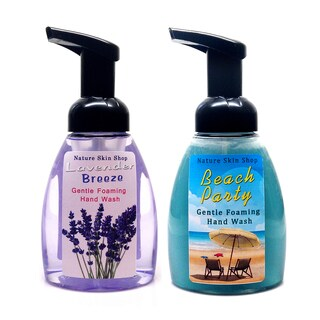 Handmade Lavender Breeze and Beach Party Foaming Hand Wash (USA)
