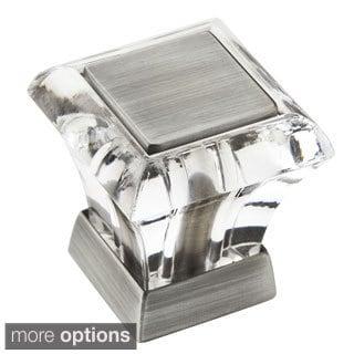 Amerock Abernathy 1.125-Inch Crystal Cabinet Knob (Pack of 5)
