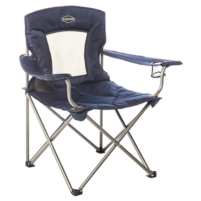 Kamp-Rite Padded Chair with Mesh Back (Padded Chair with ...